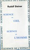 SCIENCE DU CIEL - SCIENCE DE L'HOMME